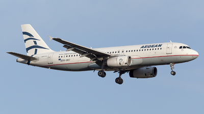 A picture of SXDGC - Airbus A320232 - Aegean Airlines - © Oksana