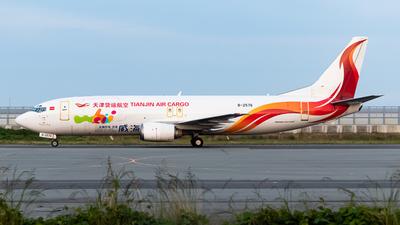 A picture of B2576 - Boeing 73744P(SF) - Tianjin Air Cargo - © cunetaru