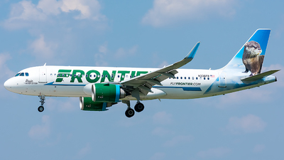 N336FR - Airbus A320-251N - Frontier Airlines