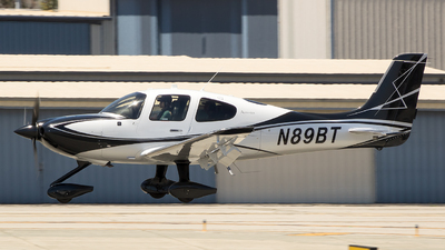 N89BT - Cirrus SR22T-GTS G6 Arrivee - Private