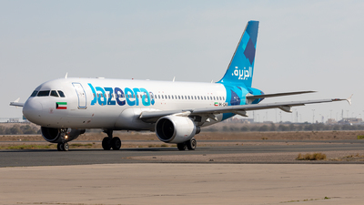 9K-CAU - Airbus A320-214 - Jazeera Airways