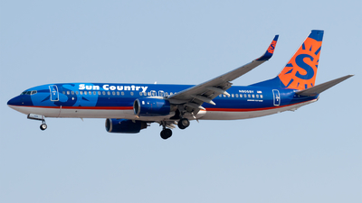 N805SY - Boeing 737-8Q8 - Sun Country Airlines