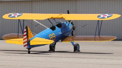 N52740 - Boeing PT-17 Kaydet - Private
