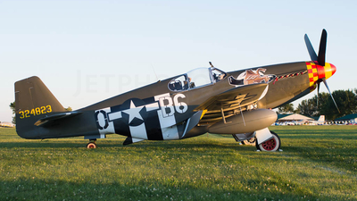 N515ZB - North American P-51B Mustang - Private