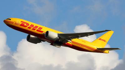 A picture of N776CK - Boeing 777F - DHL - © Jubilant Chan - AHKGAP