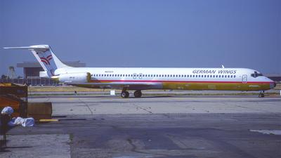 N6202S - McDonnell Douglas MD-83 - German Wings
