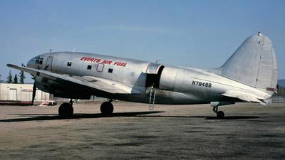 N7848B - Curtiss C-46R Commando - Everts Air Fuel