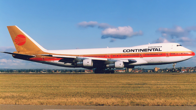 N609PE - Boeing 747-243B - Continental Airlines