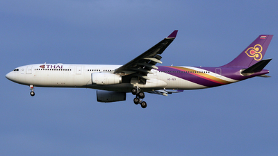 HS-TET - Airbus A330-343 - Thai Airways International