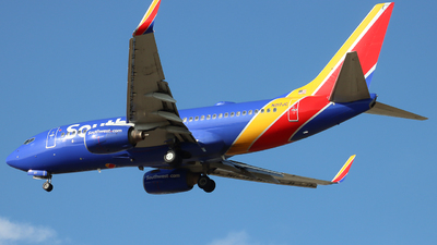 A picture of N217JC - Boeing 7377H4 - Southwest Airlines - © Ethan Peters