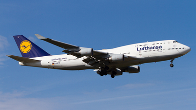D-ABTF - Boeing 747-430(M) - Lufthansa
