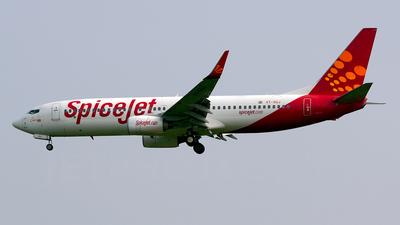 VT-SGJ - Boeing 737-86J - SpiceJet