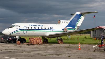 RA-87500 - Yakovlev Yak-40 - Private