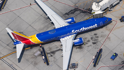 A picture of N8714Q - Boeing 737 MAX 8 - Southwest Airlines - © JinZi