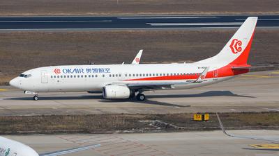 B-1450 - Boeing 737-8KF - OK Air