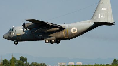 4189 - Lockheed C-130E Hercules - Pakistan - Air Force