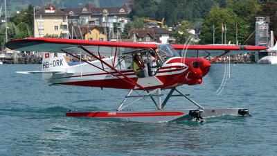 HB-ORK - Piper PA-18-150 Super Cub - Private