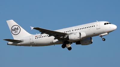 D-ASSB - Airbus A319-112 - SundAir