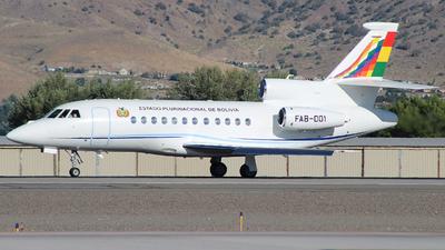 FAB-001 - Dassault Falcon 900EX - Bolivia - Air Force