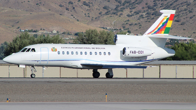 A picture of FAB001 - Dassault Falcon 900EX - [209] - © Nate Morin