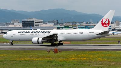 JA614J - Boeing 767-346(ER) - Japan Airlines (JAL)