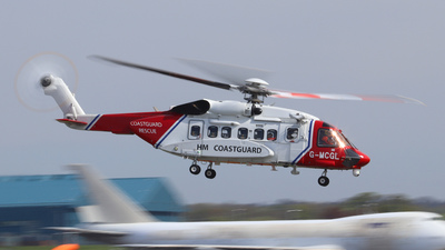 G-MCGL - Sikorsky S-92A Helibus - Bristow Helicopters