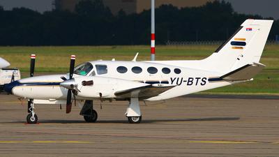 YU-BTS - Cessna 425 Conquest I - Amber Jet