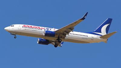 TC-JFZ - Boeing 737-8F2 - AnadoluJet
