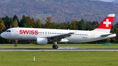 A picture of HBIJD - Airbus A320214 - Swiss - © Milan Korbar