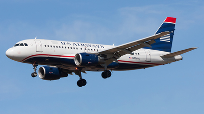 N756US - Airbus A319-112 - US Airways