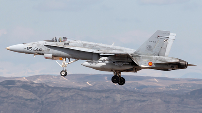 C.15-64 - McDonnell Douglas EF-18M Hornet - Spain - Air Force