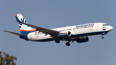 TC-SEP - Boeing 737-8HC - SunExpress