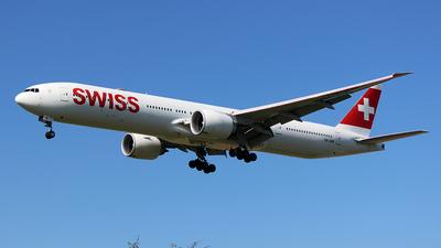 A picture of HBJNB - Boeing 7773DE(ER) - Swiss - © Carlos Alberto Rubio Herrera
