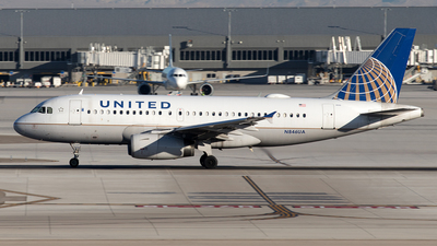 A picture of N846UA - Airbus A319131 - United Airlines - © Yixin Chen