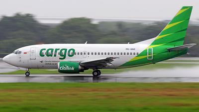 PK-GGC - Boeing 737-5U3 - Citilink Cargo