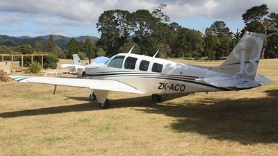ZK-ACO - Beech A36 Bonanza - Private