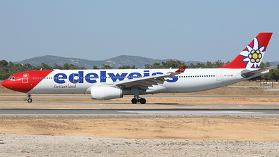A picture of HBJHR - Airbus A330343 - Edelweiss Air - © paulo carvalho