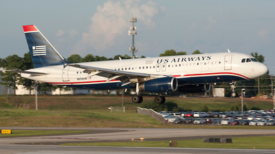 N656AW - Airbus A320-232 - US Airways