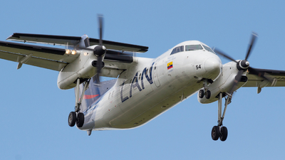HK-4554 - Bombardier Dash 8-Q202 - LAN Colombia (Aires Colombia)