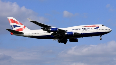 G-BNLF - Boeing 747-436 - British Airways