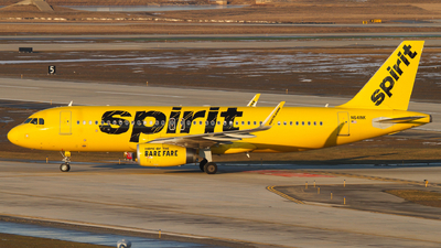 A picture of N641NK - Airbus A320232 - Spirit Airlines - © Connor Cummings