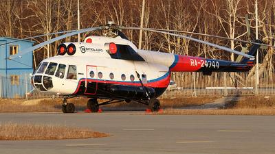 RA-24744 - Mil Mi-8T Hip - Vityaz-Aero