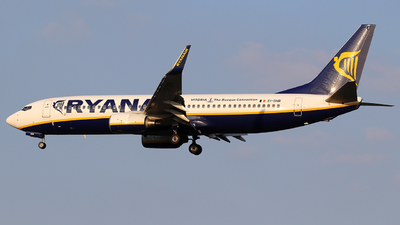 EI-DHR - Boeing 737-8AS - Ryanair