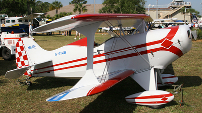 N914S - Pitts S-1C Special - Private
