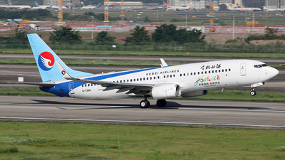 A picture of B1366 - Boeing 7378LW - Hebei Airlines - © YIJING HOU