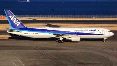 A picture of JA607A - Boeing 767381(ER) - All Nippon Airways - © Jason CDHK