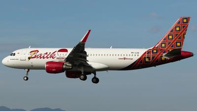 PK-LUG - Airbus A320-214 - Batik Air
