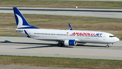 TC-SCK - Boeing 737-8GJ - AnadoluJet
