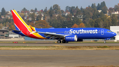 A picture of N8724J - Boeing 737 MAX 8 - Southwest Airlines - © Huy Do
