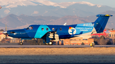 N1273A - Pilatus PC-12/45 - Guardian Flight